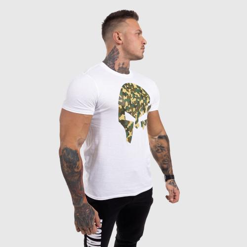 Ultrasoft kulturistické tričko Iron Crown, čierne