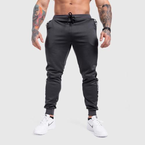 Tričko s dlhým rukávom Iron warrior, sivé