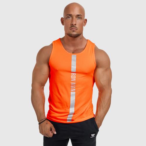 6515d85ec926 ... biele Kulturistické tričko Rule Nr.1 - Iron Clothing