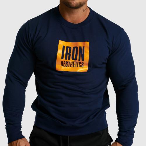 Pánske fitness tričko Iron Aesthetics Rectangle, červené