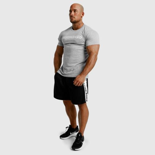 Pánské fitness tílko Iron Aesthetics Skull, bílé