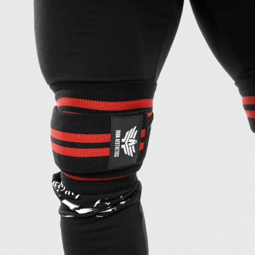 Pánské fitness tričko Iron Aesthetics Triumph, černé