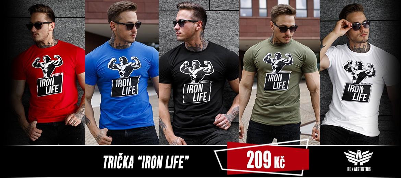 Trička_Iron_Life