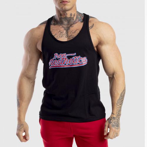 Pánské fitness TÍLKO Iron Aesthetics Baseball, černé