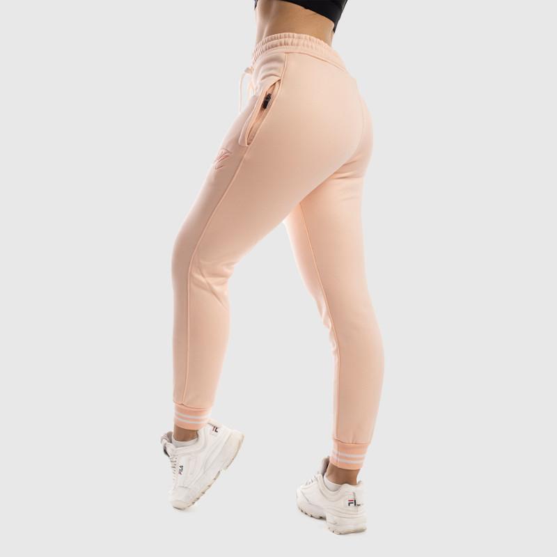Dámské fitness tepláky Iron Aesthetics, růžové-1