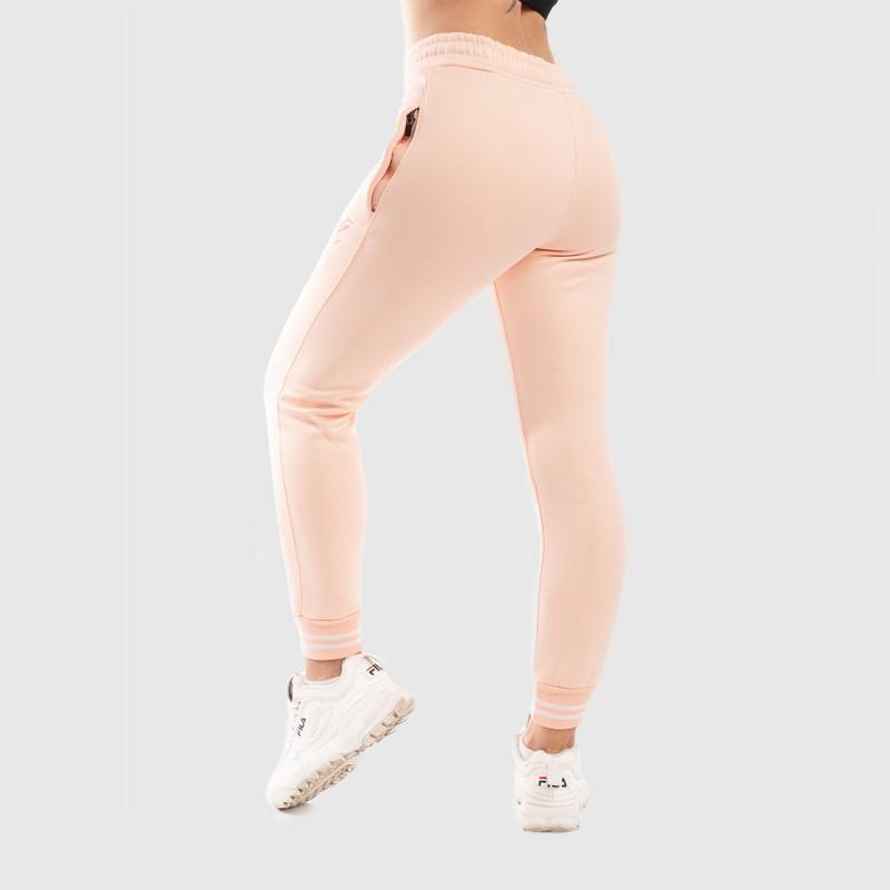 Dámské fitness tepláky Iron Aesthetics, růžové-3