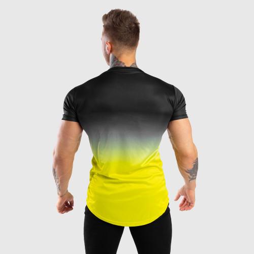 Pánské tričko Iron Aesthetics FADED, černo-zelené