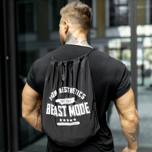 Stahovací vak Iron Aesthetics BEAST MODE est. 2017, černý