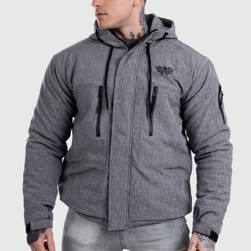 Pánská Softshellová bunda Iron Aesthetics, šedá