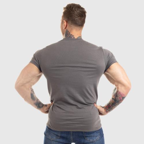 Ultrasoft tričko Workout Till I Die, šedé