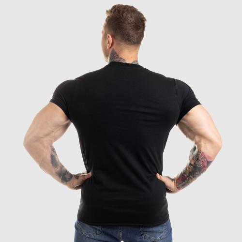 Ultrasoft tričko Workout Till I Die, černé