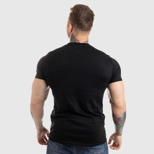 UltraSoft tričko IRON MAN, black on black