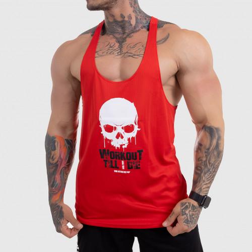 FUNKČNÍ TÍLKO Workout Till I Die, červené