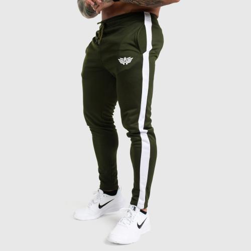 Jogger tepláky Iron Aesthetics Sport Track, zelené