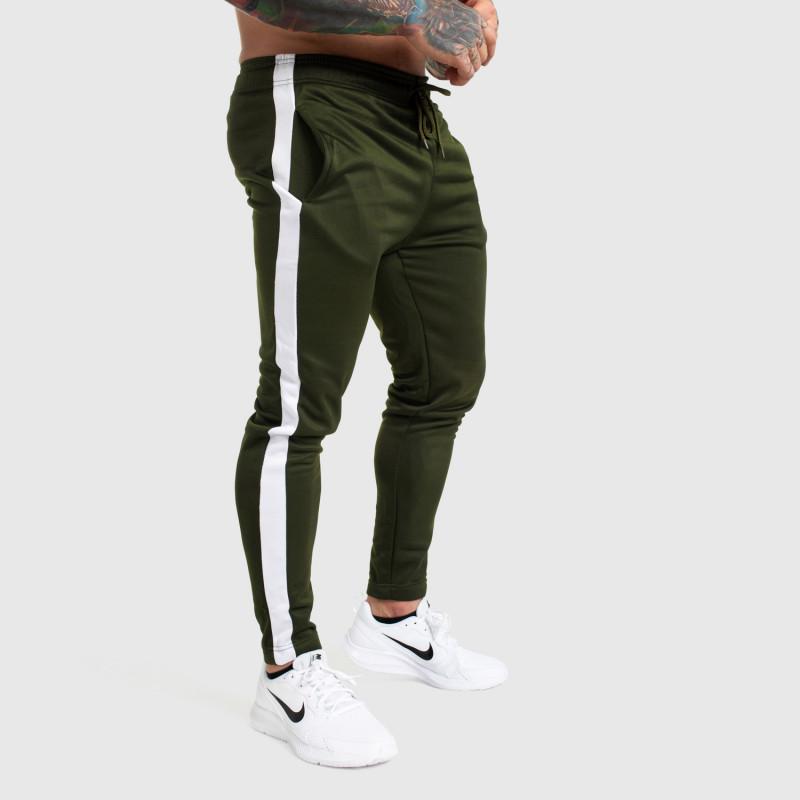 Jogger tepláky Iron Aesthetics Sport Track, zelené-3