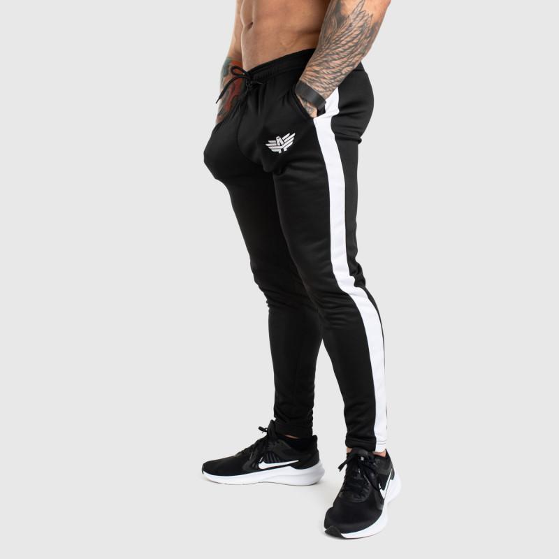 Jogger tepláky Iron Aesthetics Sport Track, černé-1