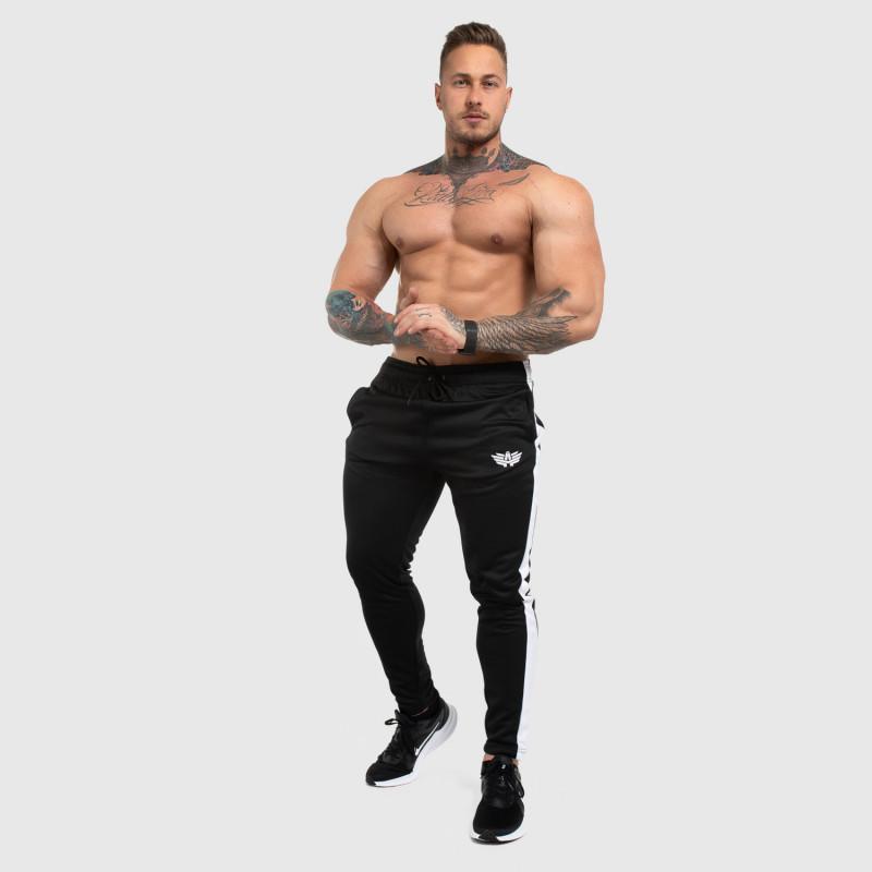 Jogger tepláky Iron Aesthetics Sport Track, černé-4