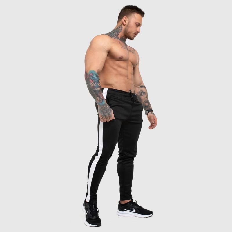 Jogger tepláky Iron Aesthetics Sport Track, černé-5