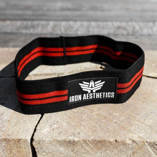 Posilovací guma Iron Aesthetics, black