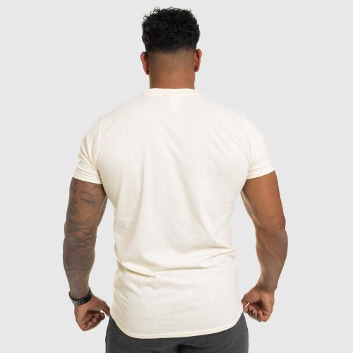 Pánské fitness tričko IRON, pískové