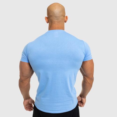 Pánské fitness tričko Iron Aesthetics Standard, modré