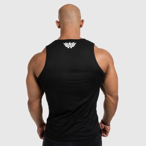 Pánske fitness TIELKO Iron Aesthetics Iron Man, čierne