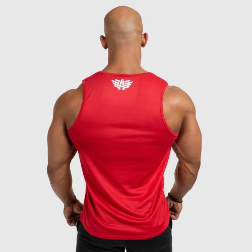 Pánske fitness TIELKO Iron Aesthetics Iron Man, červené