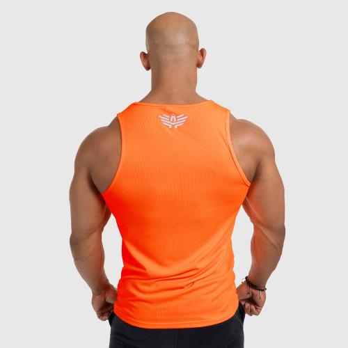 Pánske fitness TIELKO Iron Aesthetics Iron Man, Neon Orange