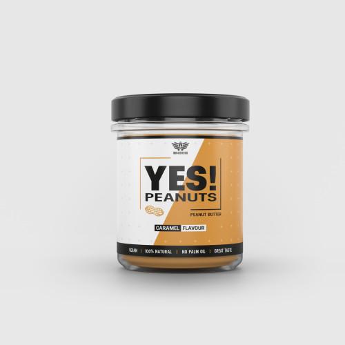 Arašídové máslo YES! Peanuts karamel - Iron Aesthetics