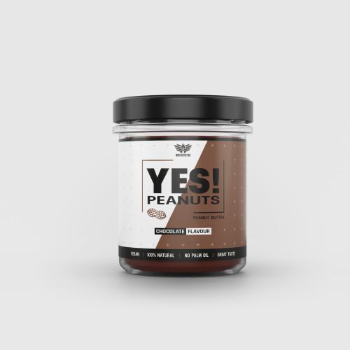 Arašidové maslo YES! Peanuts čokoláda 340 g - Iron Aesthetics