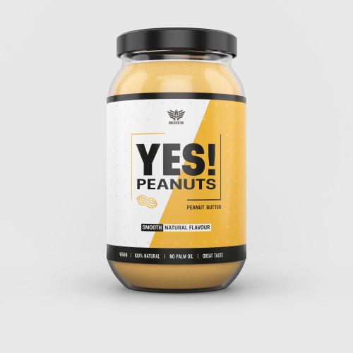 Arašidové maslo YES! Peanuts 1000 g - Iron Aesthetics