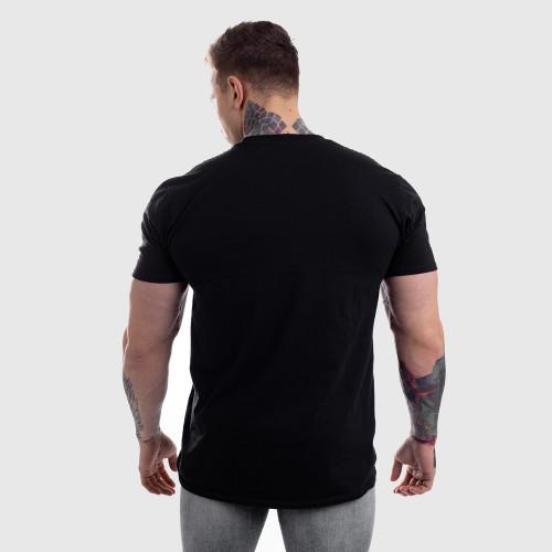 Ultrasoft tričko Iron Aesthetics, černé