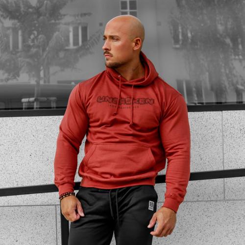 Fitness mikina bez zipsu Iron Aesthetics Unbroken, rustikal
