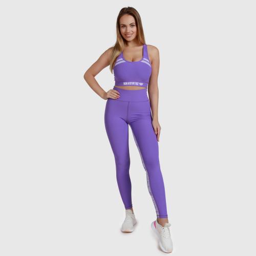 Dámska fitness súprava Iron Aesthetics Te Tape, fialová