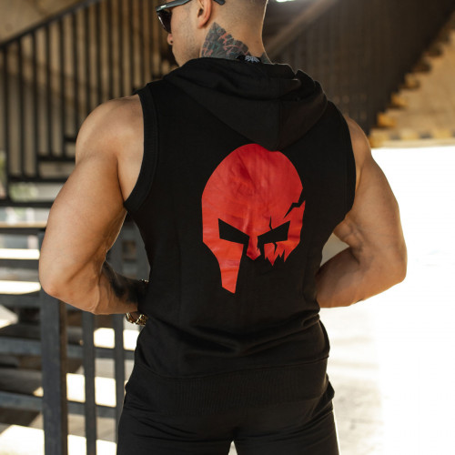Pánská mikina Iron Aesthetics Sleeveless Skull, B&R