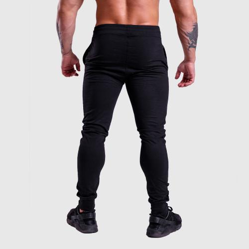 Jogger tepláky Iron Aesthetics Vertical, černo-bílé