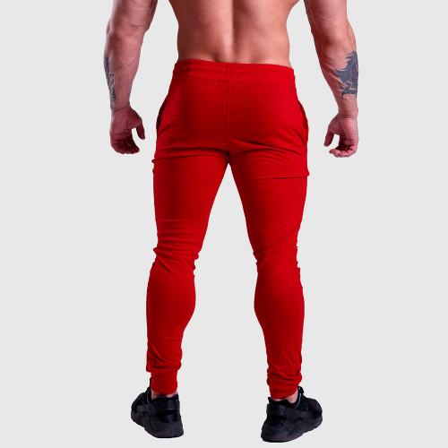 Jogger tepláky Iron Aesthetics Vertical, červené