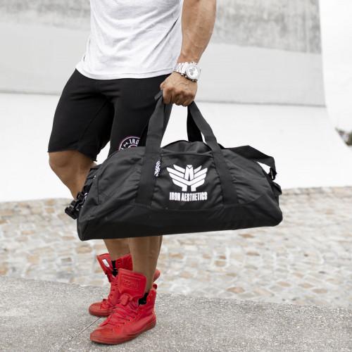Sportovní taška Iron Aesthetics, černá